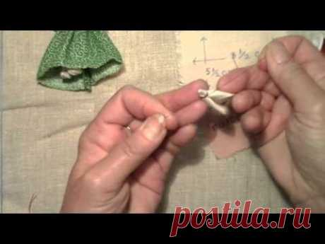 The small doll a motanka to make with own hands