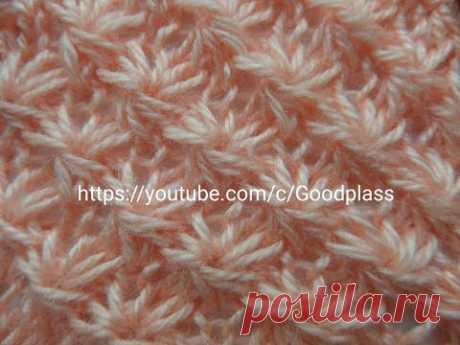 Daisy pattern (Asterisks, 5 of 5) Knitting by spokes. Knitting(Hobby).