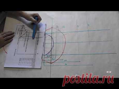 валяние /подробное построение шаблона  3D на носки рукоделки