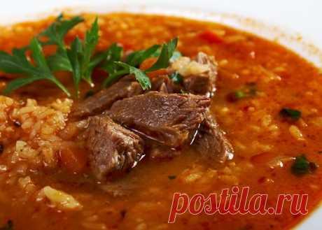 Суп харчо - грузинский рецепт приготовления супа Харчо | Смачно Приготовить суп Харчо по грузинскому рецепту можно всего за 9 шагов, как это сделать смотрите на Смачно