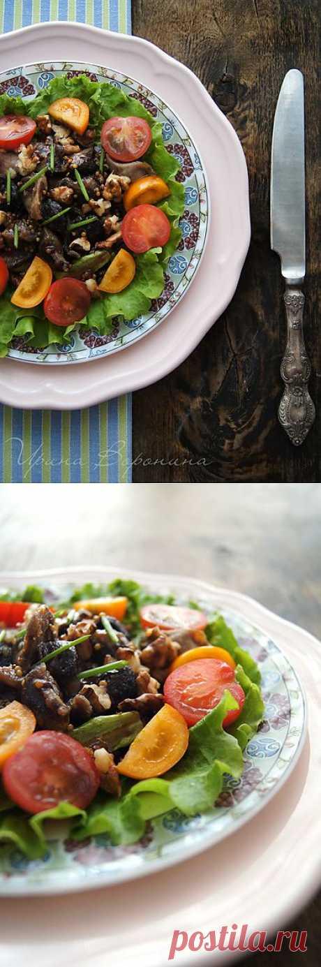 Заметки на кухонных занавесках - Перигорский салат