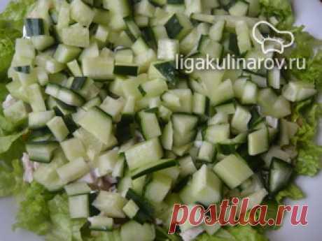 Салат к дню рождения ЛК - рецепт пошаговый с фото