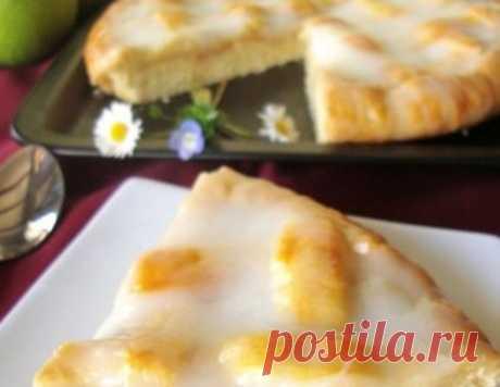 """Пирог """"Яблочное лукошко"""" – кулинарный рецепт"""