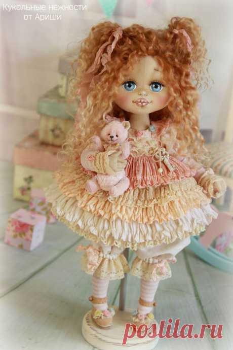 Основные этапы изготовления кукольной головки - Ярмарка Мастеров - ручная работа, handmade