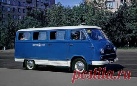 Найден уникальный пассажирский автопоезд РАФ, который обслуживал Олимпиаду 80 - ЯПлакалъ