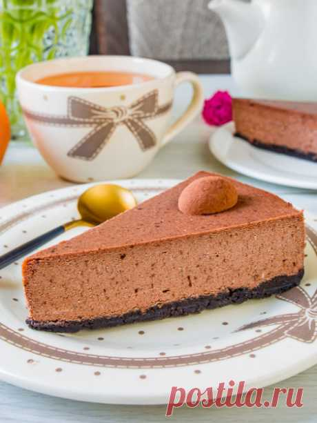 Рецепт шоколадного творожника на Вкусном Блоге