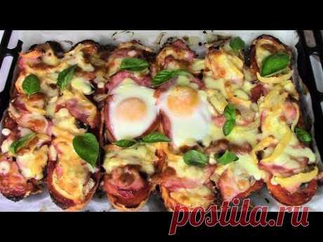Пицца за 15 минут для завтрака! Ленивая пицца! Просто, быстро и очень вкусно!