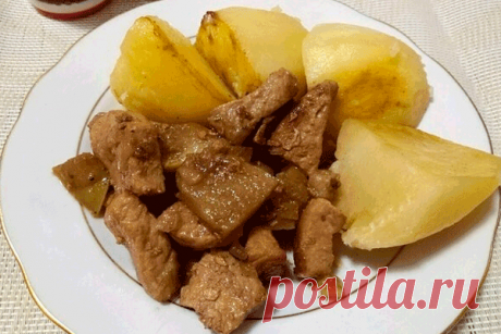 Мясо чайное. Рецепт привезен из Турции Читать далее...