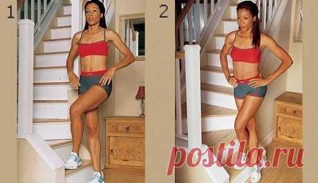 Los músculos metidos de las caderas en un mes.