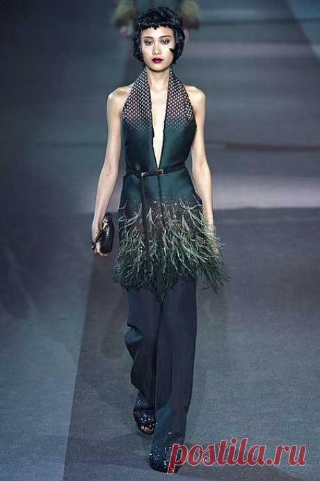 Коллекция Louis Vuitton  на Неделе Моды в Париже сезона осень-зима 2013-2014