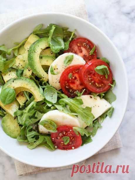Салат с авокадо ~ Домашние рецепты