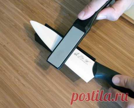 Совет от папы — как быстро и легко заточить кухонные ножи?