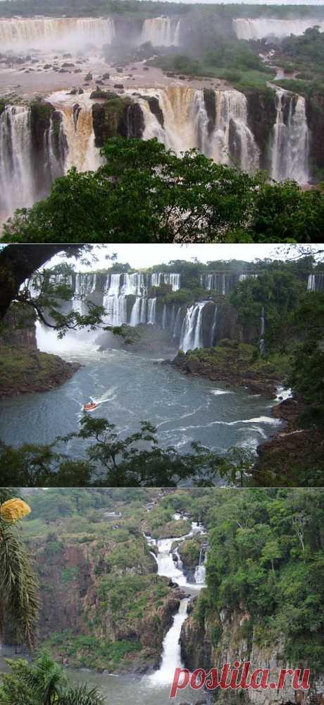 (+1) тема - Удивительные водопады Игуасу | УДИВИТЕЛЬНОЕ