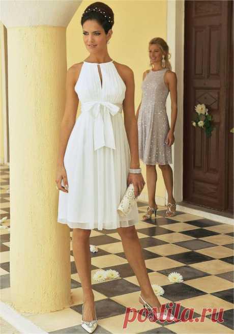 Выкройка романтичного платья