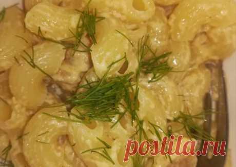(6) Паста с курицей в сливочном соусе - пошаговый рецепт с фото. Автор рецепта Алёна Лунная . - Cookpad