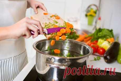 Как сохранить витамины при кулинарной обработке пищи? 6 способов