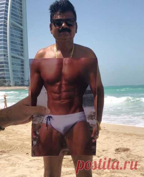 Как выглядеть круто на пляжном фото