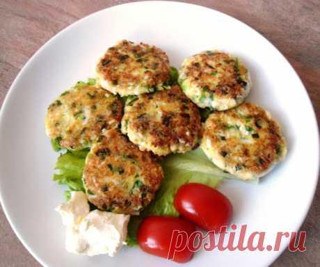 Котлетки из яиц и зеленого лука | Четыре вкуса