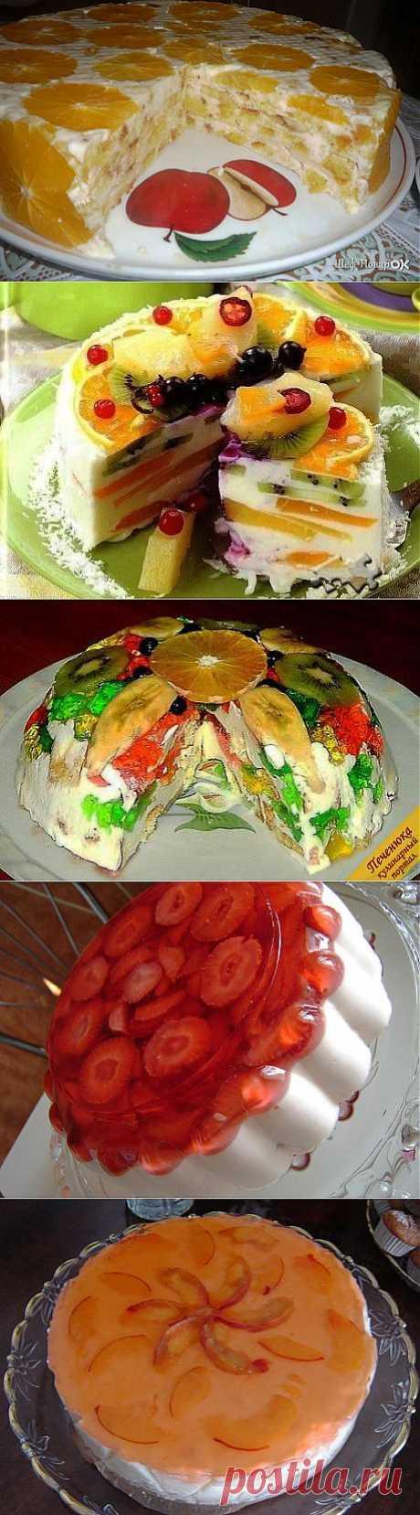 Торты,без выпечки..