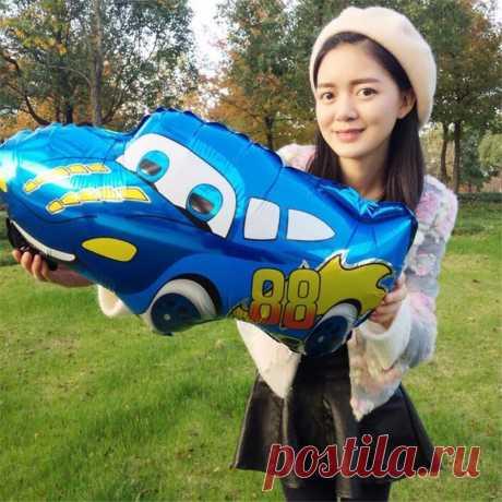 1 шт./лот 66 * см 49 см новый мультфильм автомобили Mai Кун алюминиевый шарик надувные гелиевые Фольга шары игрушечные лошадки дети день рождения поставки купить на AliExpress