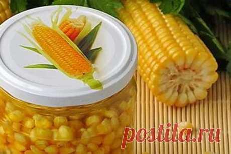 Консервированная кукуруза - лучшие рецепты