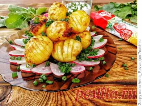 Картошечка под горчицей: что может быть проще?!