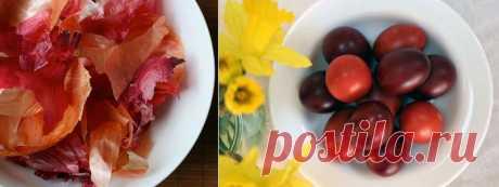 Натуральные красители для пасхальных яиц | ШПИЛЬКИ