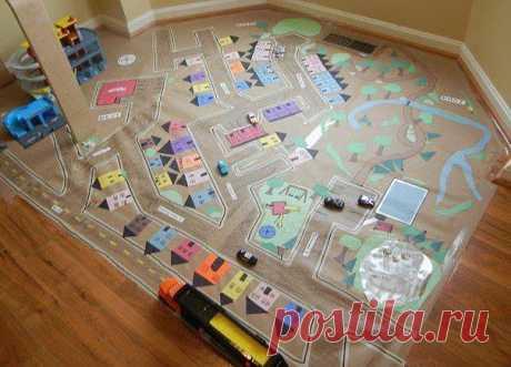 Игры дома: Город в углу
