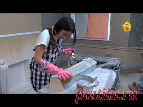 Как украсить печь: от росписи до облицовки. Реальный опыт   FORUMHOUSE   Яндекс Дзен