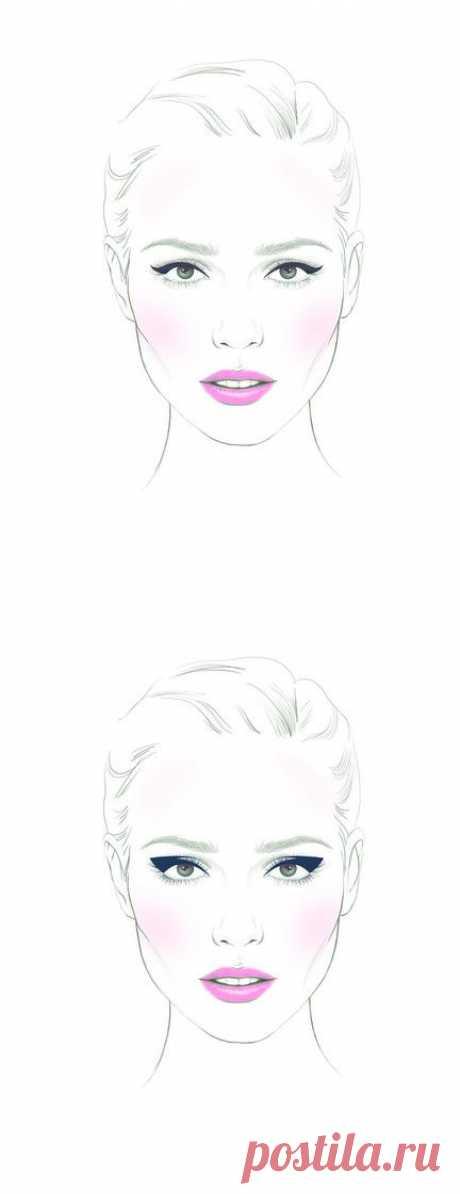 Как сделать глаза больше с помощью стрелок | статьи о красоте и здоровье | Леди@Mail.Ru