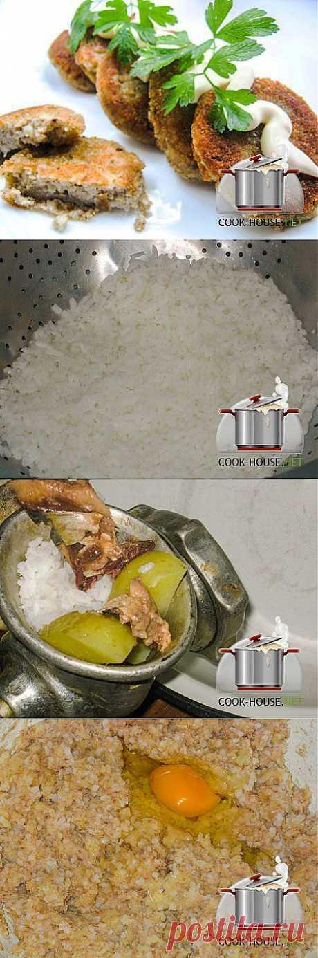Котлеты из риса с консервами «Сардина в масле»   Ваши любимые рецепты