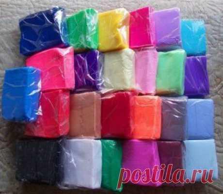 Как сделать полимерную глину в домашних условиях. — Сделай сам, идеи для творчества - DIY Ideas