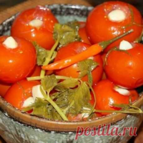 Objedenye tomatoes … Always turn out just excellent!