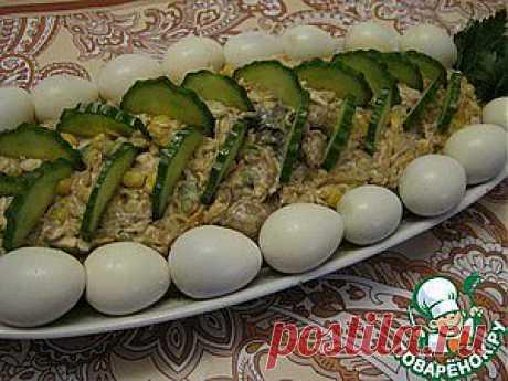 Грибной салат - кулинарный рецепт