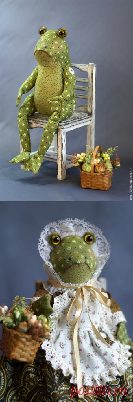 Как сшить Лягушку-Квакушку - Ярмарка Мастеров - ручная работа, handmade