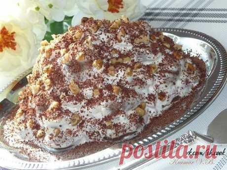 Вкусный тортик без выпечки - *Пряничный*.