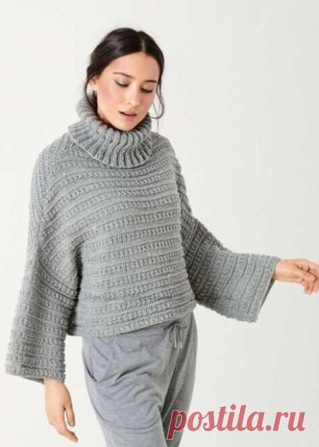 Творческие идеи для вязания спицами — простые и оригинальные модели от Lana Grossa и другие модели | Ирина СНежная & Вязание | Яндекс Дзен