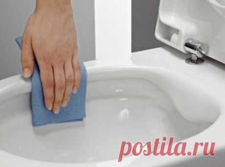Как очистить унитаз от мочевого камня домашними средствами
