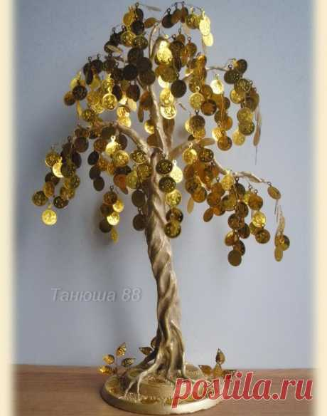 Денежное дерево своими руками » Женский Мир