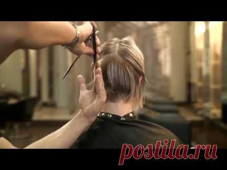 El peinado fenomenal a los cabellos cortos