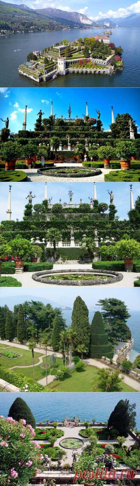 masterok: Сады острова Белла (Isola Bella)