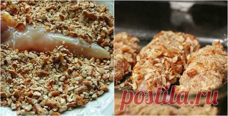 ¡Prueba preparar y ti! El filete de gallina en especial panirovke — las recetas Sabrosas