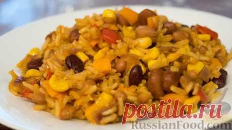 Рецепт: Рис в мексиканском стиле на RussianFood.com