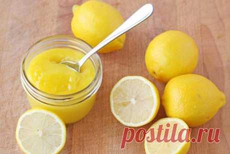 Самый полезный лимонный крем