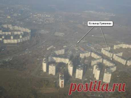 Харьков. Микрорайон Горизонт