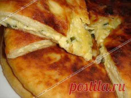 Осетинский пирог с кабачком пошаговый рецепт с фото. Автор: Александра Александра Александра
