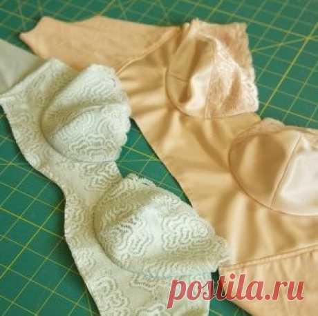 Como coser el sujetador para las mujeres por las manos: el patrón con la descripción