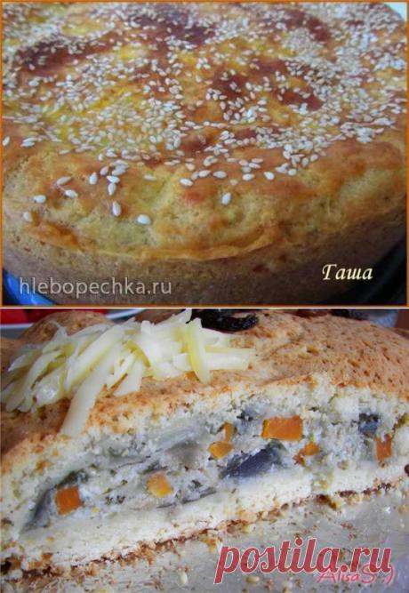 Пирог сырный с баклажанами (Балканский) - рецепт с фото на Хлебопечка.ру