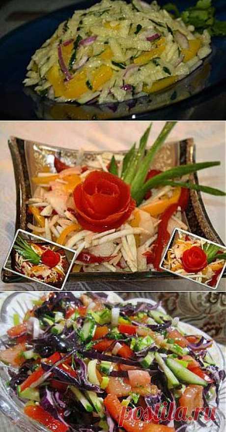 Рецепты - салаты для похудения - Вкусные рецепты