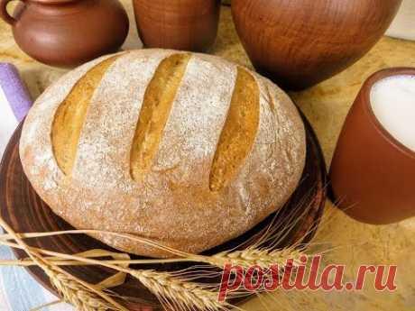 Самый вкусный деревенский хлеб на закваске / Все секреты / Без дрожжей